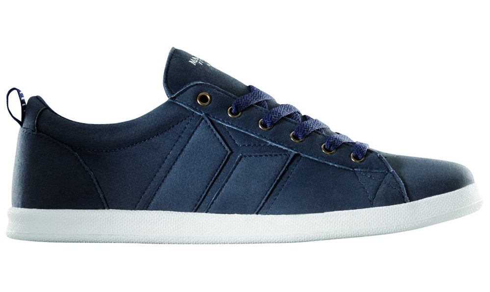 d35c88c7f62dcd Veganer Sneaker - Macbeth London Midnight White Synthetic Suede