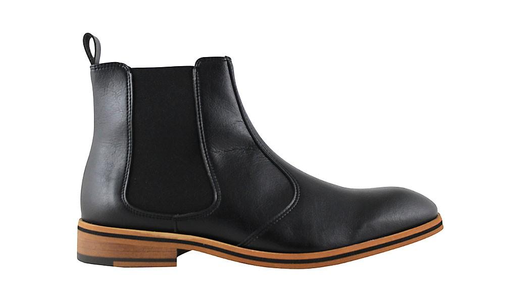 Veganer Chelsea Boot | FAIR Chelsea Boot Men Black