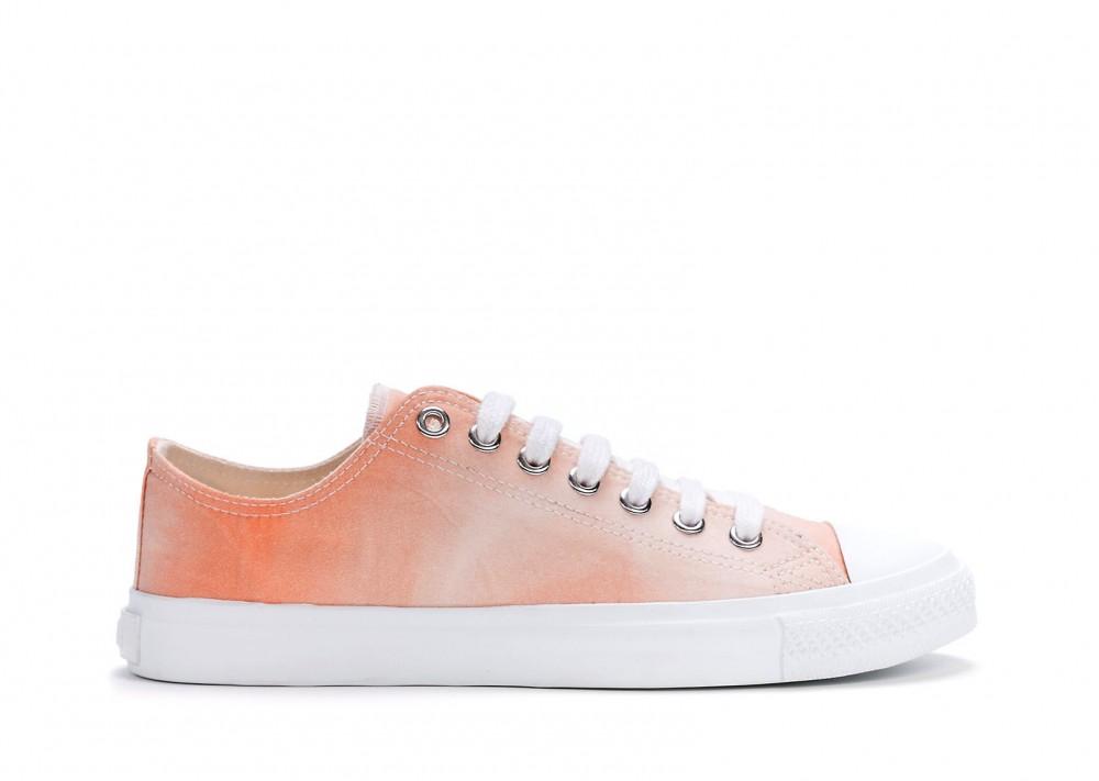Veganer Sneaker | ETHLETIC Fair Trainer White Cap Lo Cut Little Blush