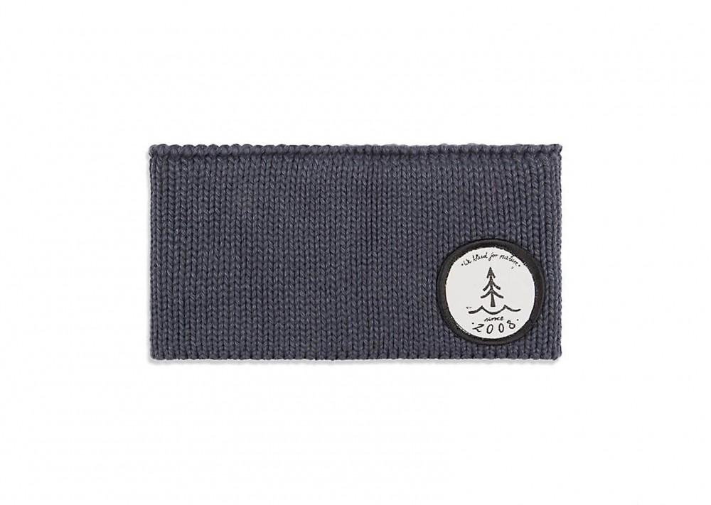 Veganes Stirnband | BLEED Knitted Eco Stirnband Grau