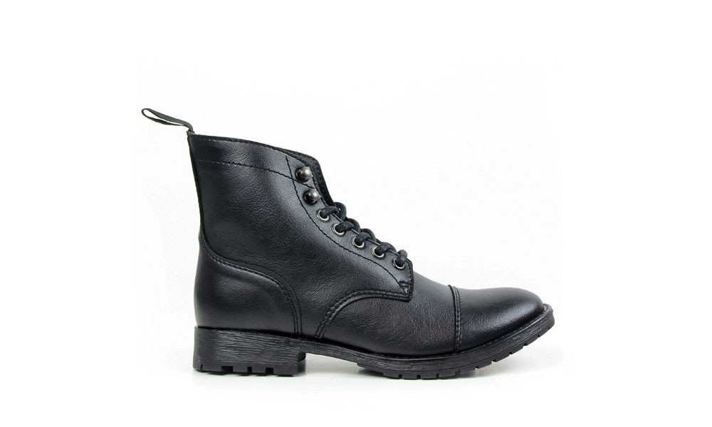 Shoes Vegan Work Black Boot Veganer HerrenstiefelWill's OPXkiZuT