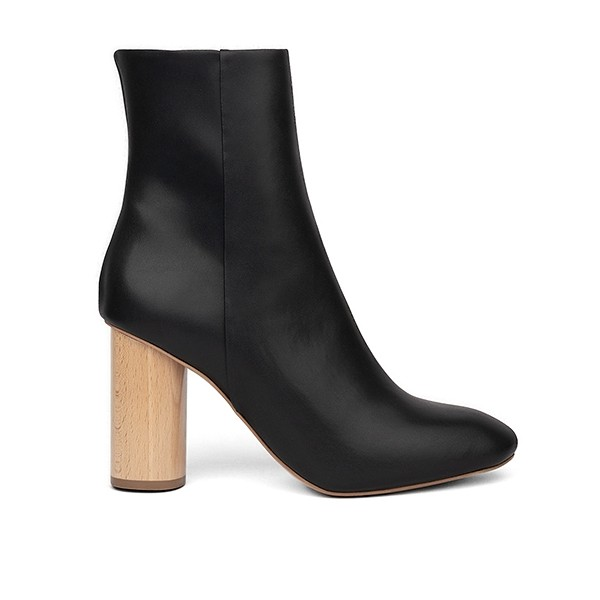 High Ankle Boot Black