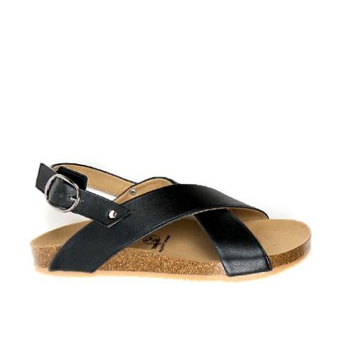 Huarache Footbed Sandal Black