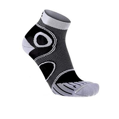 Vegane Socken   LOWA Eightsox Advanced Short Black/White