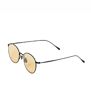 Vegane Sonnenbrille | WAITING FOR THE SUN Louie Black Yellow