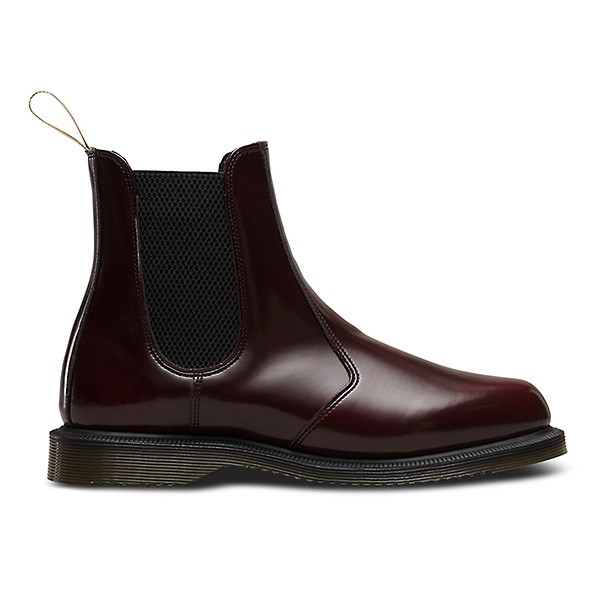 Flora Chelsea Boot Cherry Red