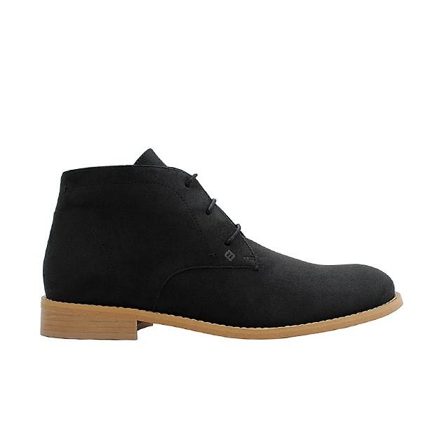 Veganer Chukak Boot | FAIR Desert Boot Black