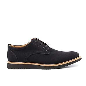 Veganer Derby | AHIMSA Charles Canvas Black
