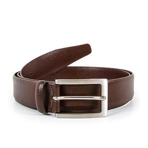 Veganer Gürtel   WILL'S VEGAN STORE Classic 3cm Belt Dark Brown