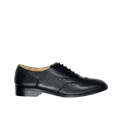 Veganer Schnürschuh | WILL'S VEGAN STORE Oxford Brogue Black