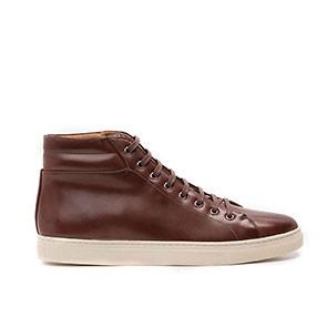 Veganer Sneaker | AHIMSA High Top Sneaker Cognac