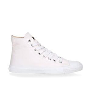 Veganer Sneaker | ETHLETIC Fair Trainer White Cap Hi Cut Just White Collection