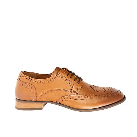 Veganer Wingtip Brogue | WILL'S VEGAN STORE City Wingtip Brogue Tan