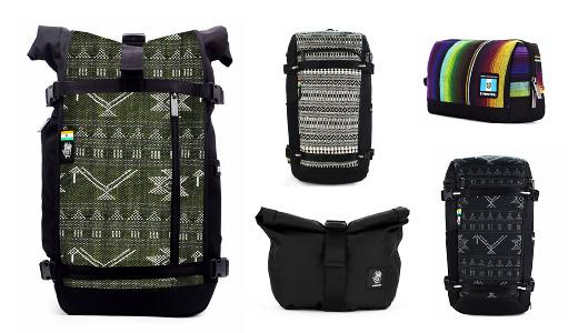Vegane Rucksäcke und Taschen mit traditionellem Handwerk | ETHNOTEK
