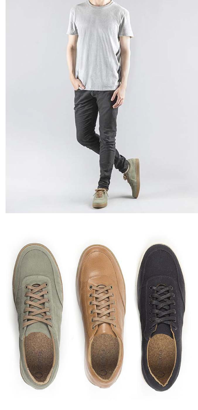 NEUE MODELLE | AHIMSA Vegane Sneaker bei avesu