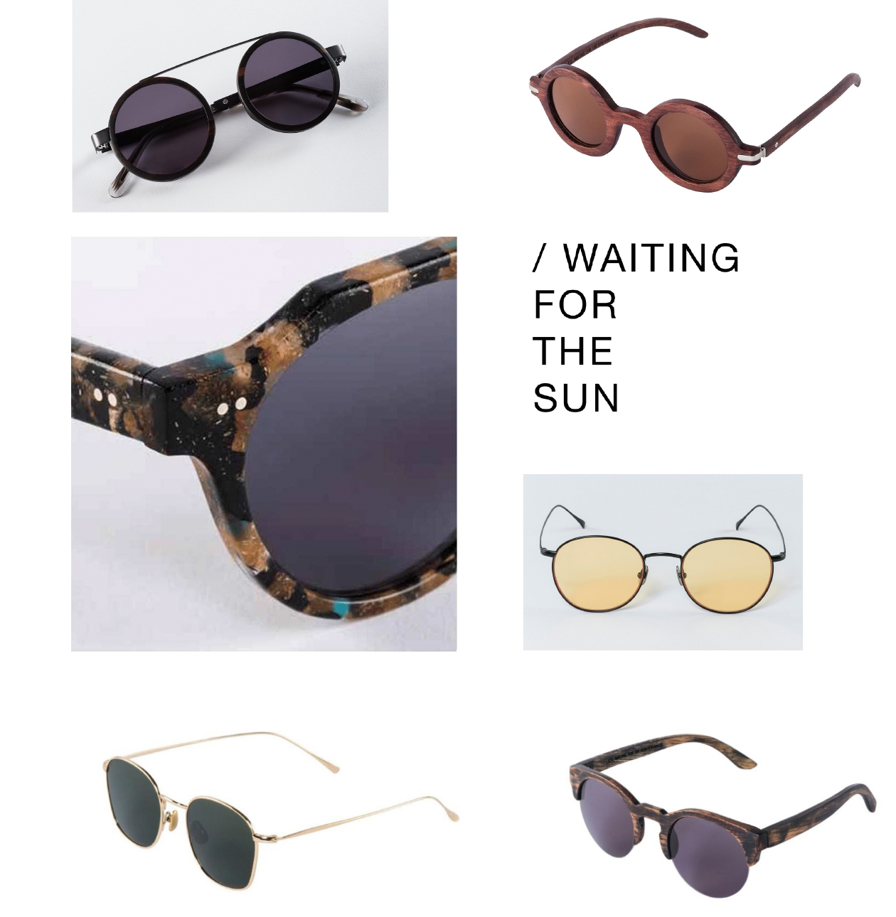Neu bei AVESU! | Sonnenbrillen von WAITING FOR THE SUN | Shop online!