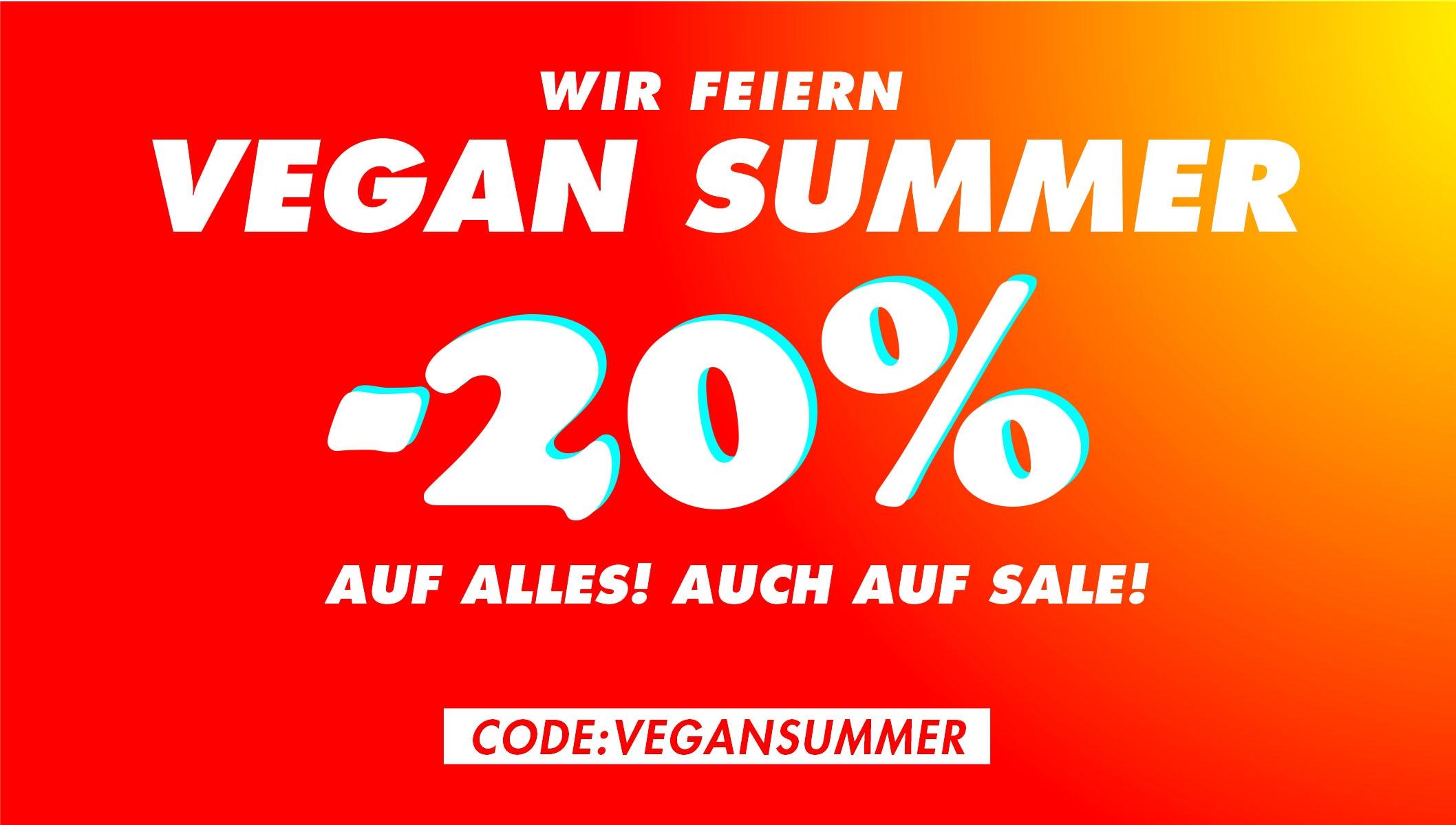 20 % RABATT – VEGAN SUMMER | Vegane Schuhe | Bis zu 70 % Rabatt auf Schuhe und Accessoires!